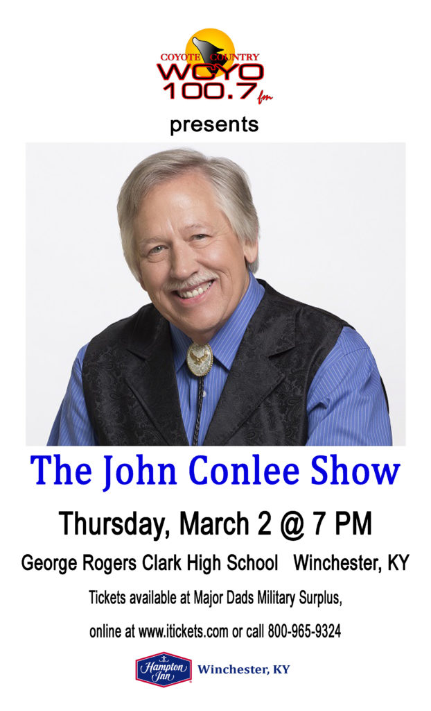 The John Conlee Show - Winchester KY_March 2